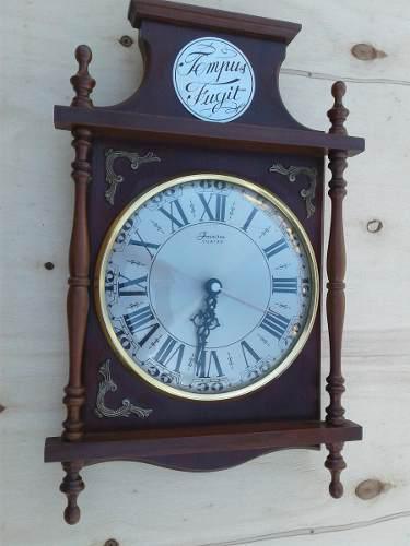 Reloj De Pared Antiguo Funcionando