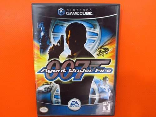 007 Agent Under Fire Original Nintendo Gamecube Ntsc