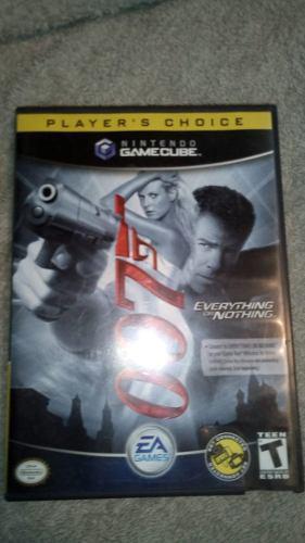 007 Everything Or Nothing Nintendo Gamecube Original