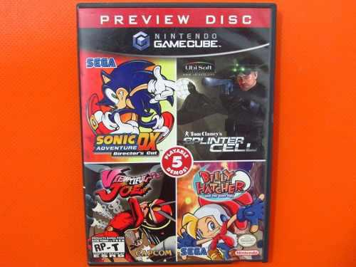 Gamecube Preview Disc Original Nintendo Gamecube Ntsc