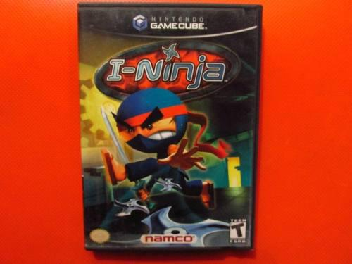 I-ninja Original Nintendo Gamecube Ntsc