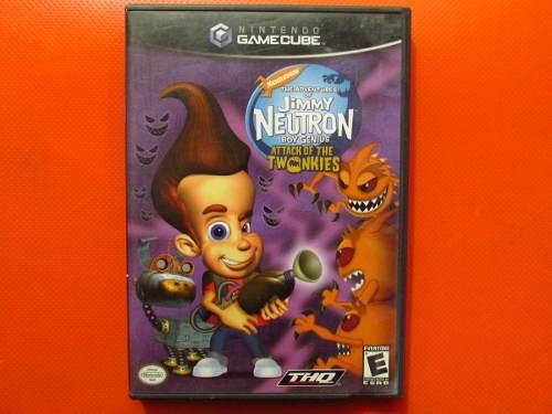 Jimmy Neutron Attack Twonkie Original Nintendo Gamecube Ntsc