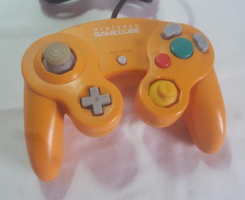 Joystick Control Nintendo Gamecube Naranja Original