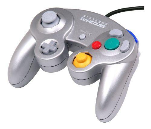 Joystick Original // Nintendo Gamecube // Plateado