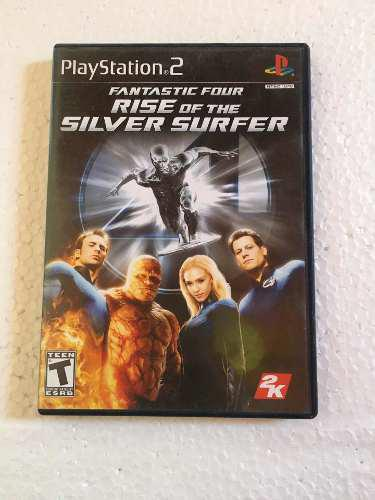 Juego Playstation 2. Fantastic 4: Rise Of The Silver Surfer