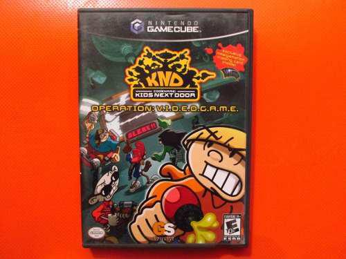 Knd Operation Videogame Original Nintendo Gamecube Ntsc