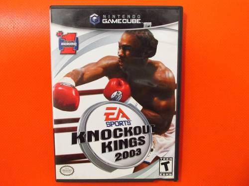 Knockout Kings 2003 Original Nintendo Gamecube Ntsc