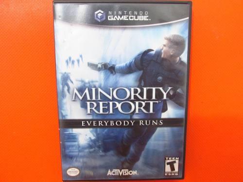 Minority Report Original Nintendo Gamecube Ntsc