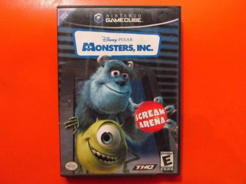 Monsters Inc Original Nintendo Gamecube Ntsc