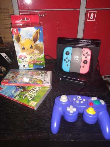 Nintendo Switch + Juegos + Gamecube Controller
