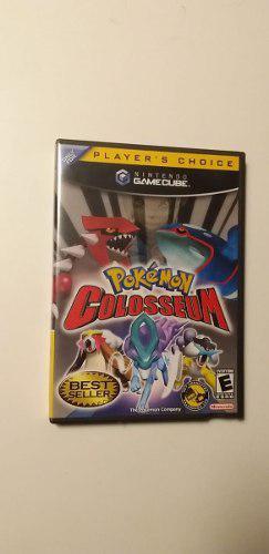 Pokemon Colosseum Nintendo Gamecube. Original (usa).