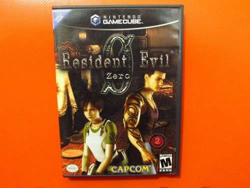 Resident Evil Zero Original Nintendo Gamecube Ntsc