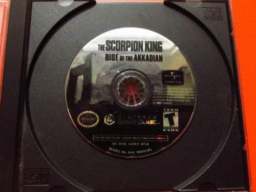 Scorpion King Rise Akkadian Original Nintendo Gamecube Ntsc