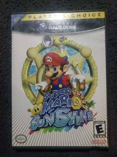 Super Mario Sunshine Original Gamecube