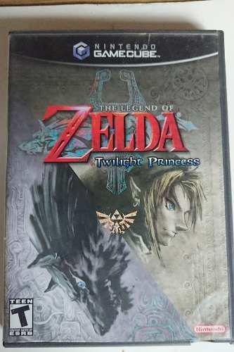 The Legend Of Zelda Twilight Princess Gamecube Impecable