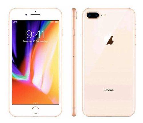 iPhone 8 Plus 256 Gb Gold Rose Excelente Estado + Regalo!!