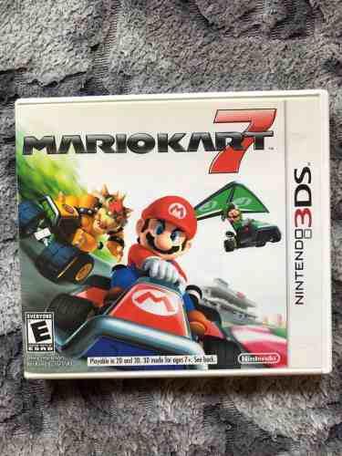 Mario Kart 7 Nintendo 3ds Original En Caja Con Manuales