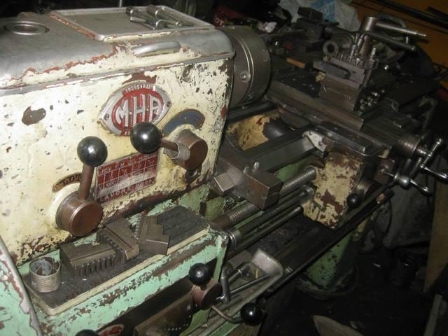 Torno lavore y otras maquinas