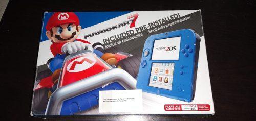 Nintendo 2ds Edición Mario Kart 7 Flasheada