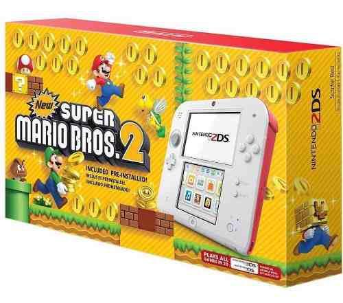 Nintendo 2ds New Super Mario Bros 2