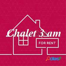 Alquiler Casa - Chalet 3 Ambientes RAWSON Y PERU Mar del