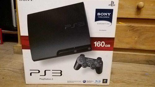 Playstation 3 160gb Joystick Move Camara 15 Jgos Completa