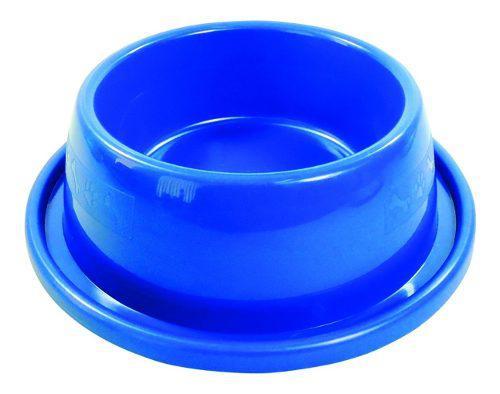 Comedero Bebedero Anti Hormiga Perros Gatos 200 Ml Azul