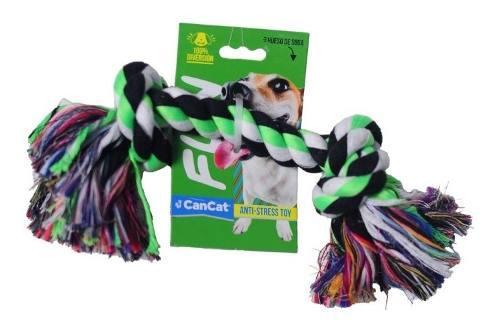 Juguete Soga 10 Fun Cancat Perro Grande Cachorros 40% Off!!
