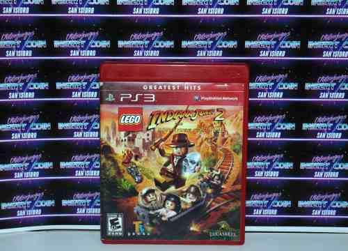 Lego Indiana Jones 2 Play Station 3 Ps3 Juego