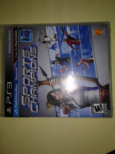 Sports Champions Juego Fisico Para Ps3 Playstation Move
