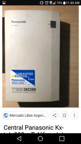 Central Telefonica Panasonic Se Entrega Programada