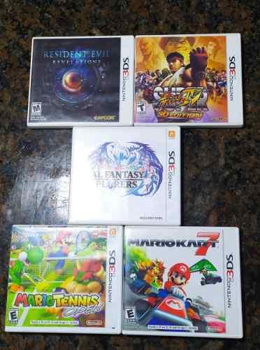Juego Nintendo 3ds Super Street Fighter Iv Como Nuevo