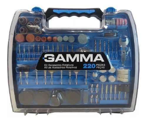 Kit Accesorios Para Minitorno Gamma 220 Piezas G19509