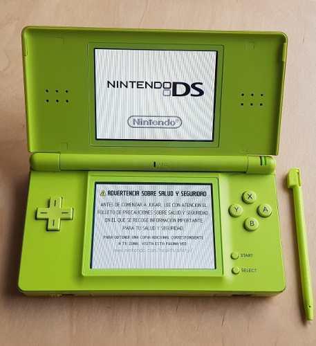 Nintendo Ds Lite - Verde Lima