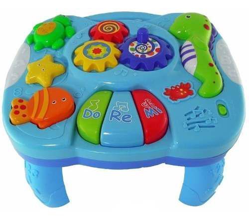 Mesa De Actividades Zippy Toys Con Luz Y Sonido