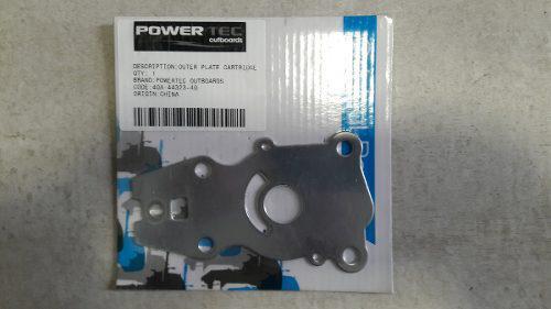 Repuesto Chapa Bomba De Agua Powertec 40hp Yamaha
