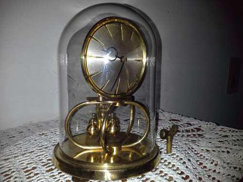 Antiguo Reloj De Mesa Kundo A Torsion 400dias Circa1923