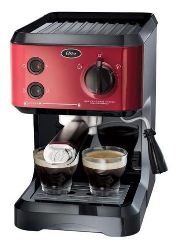Cafetera Express Oster Cmp65r 19 Bar Cápsulas Nespresso