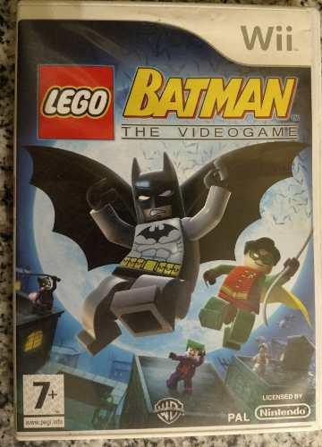 Juego Wii Batman The Video Game