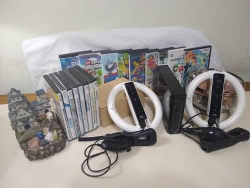 Nintendo Wii Chipeada + Juegos + Mandos