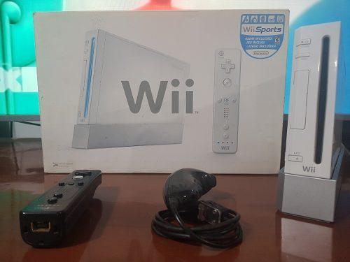 Nintendo Wii Completa En Perfecto Estado | Con Juegos!