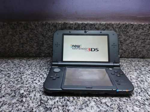 New Nintendo 3ds Xl Con 3 Juegos Y 1 Amibo (usada Exelente)
