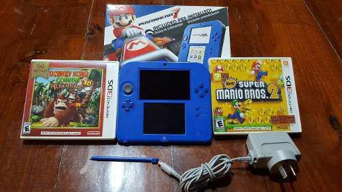 Vendo Nintendo 2ds Con Juego Pre-instalado Mario Kart 7