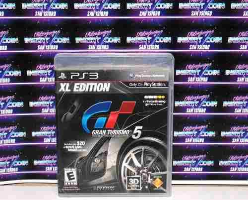 Gran Turismo 5 Xl Play Station 3 Ps3 Juego