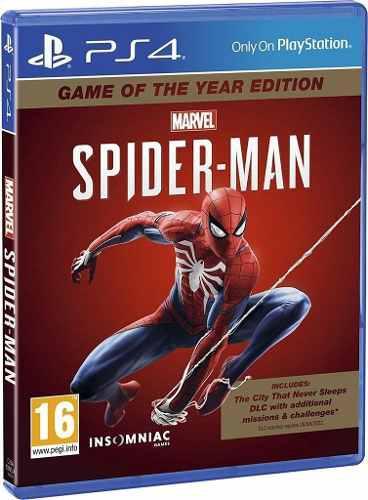 Spider Man Ps4 Edicion Especial - Fisico - Nuevo - Sellado
