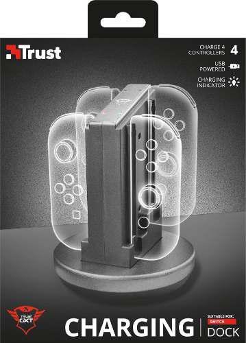 Base De Carga Trust Dock Para Switch Nintendo Gxt 1224