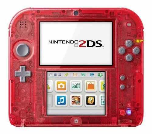 Nintendo 2ds Con Pack De Juegos De Regalo