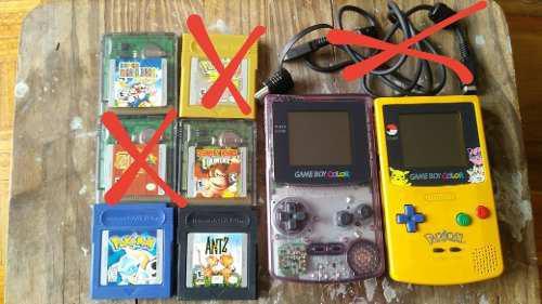 Game Boy Color X2 + 4 Juegos