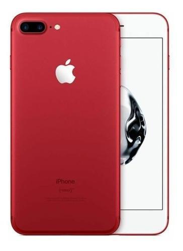 Celular Apple iPhone 7 Plus 256 Gb Rojo Accesorios Liberado