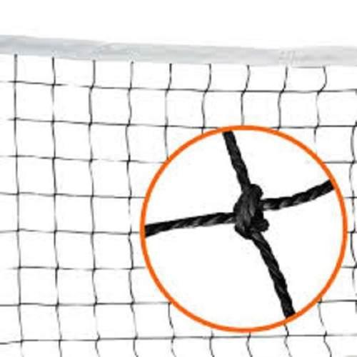 Red De Voley 9mts Reglamentaria Con Soga Voleibol Blanca